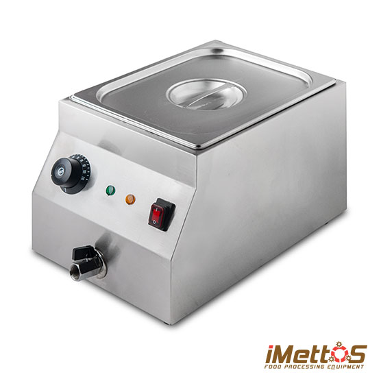 Bain Marie Single Electric with Valve