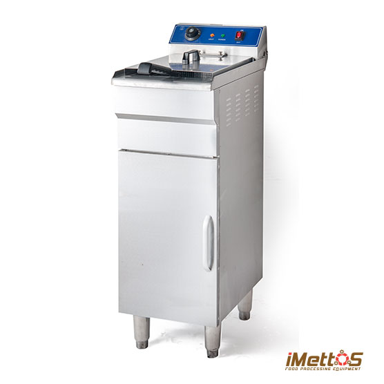 Floor-style 48L Large Electric Deep Fryer Commercial Deep-frying