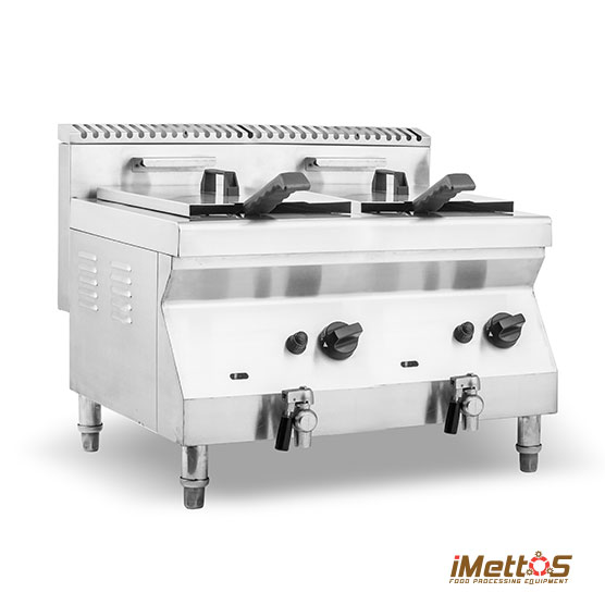 GAS Deep Fryer Double Tank, Commercial fryers - Manufacturer & Suppliers