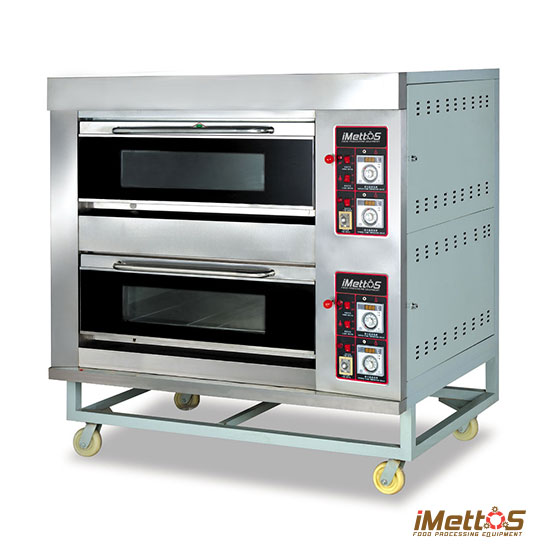 imettos commercial ovens gas baking oven arf 40h 2 layer 4 trays. Black Bedroom Furniture Sets. Home Design Ideas