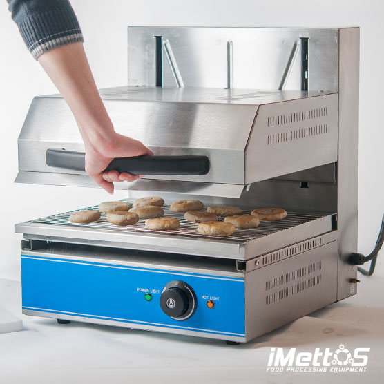 Electric Lift Salamander Grill Oven With