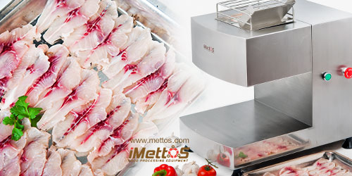 iMettos Fresh Meat Slicer, fish slicer for cutting slices, butterfly shapes etc