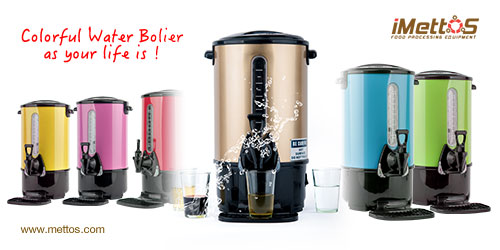 iMettos Colorful Water Boiler as your life is !